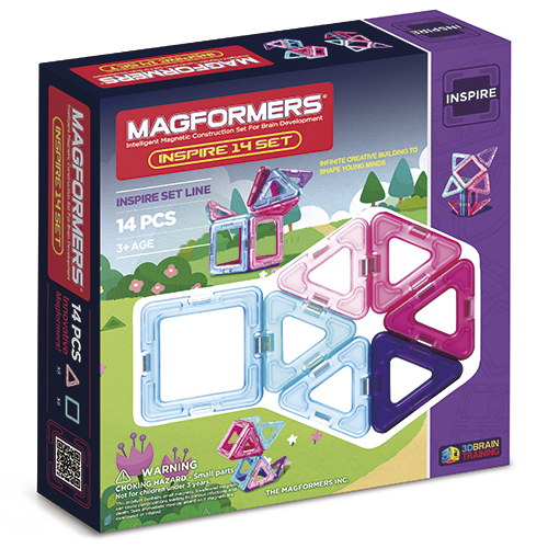 Image of   Magformers Inspire set - 14 dele
