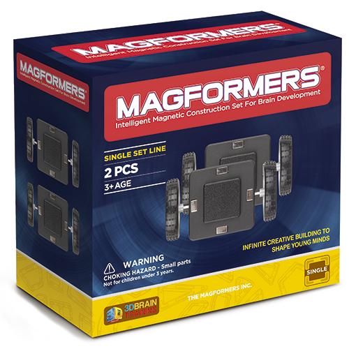 Image of   Magformers Wheels hjulsæt