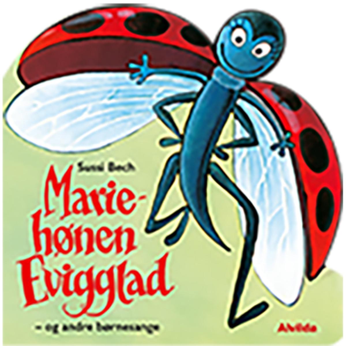 Image of   Mariehønen Evigglad & andre dyresange - Papbog