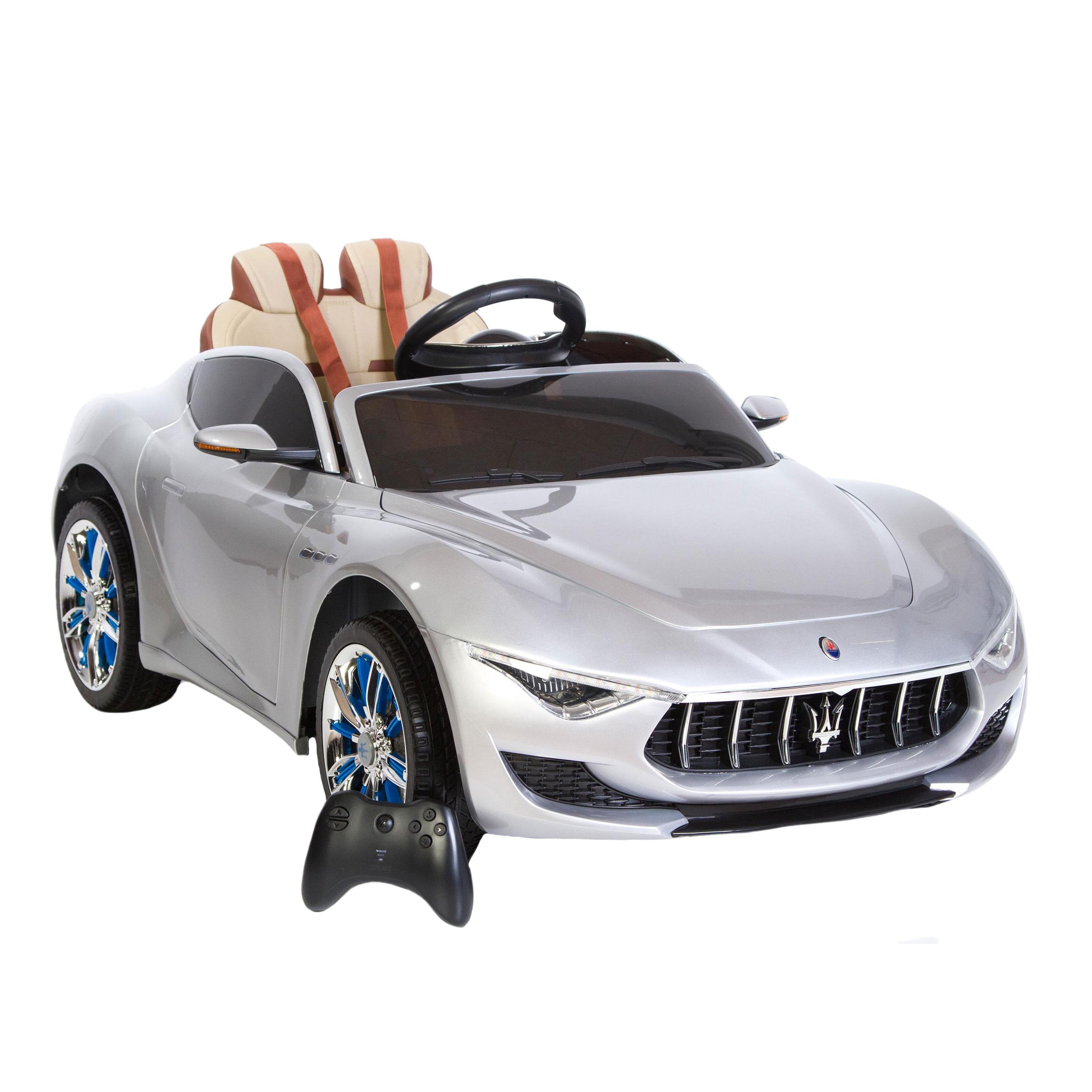 Image of   Maserati elbil - Alfieri - Sølv