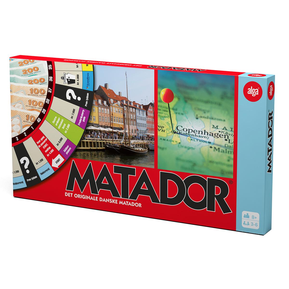 Image of   Matador spil
