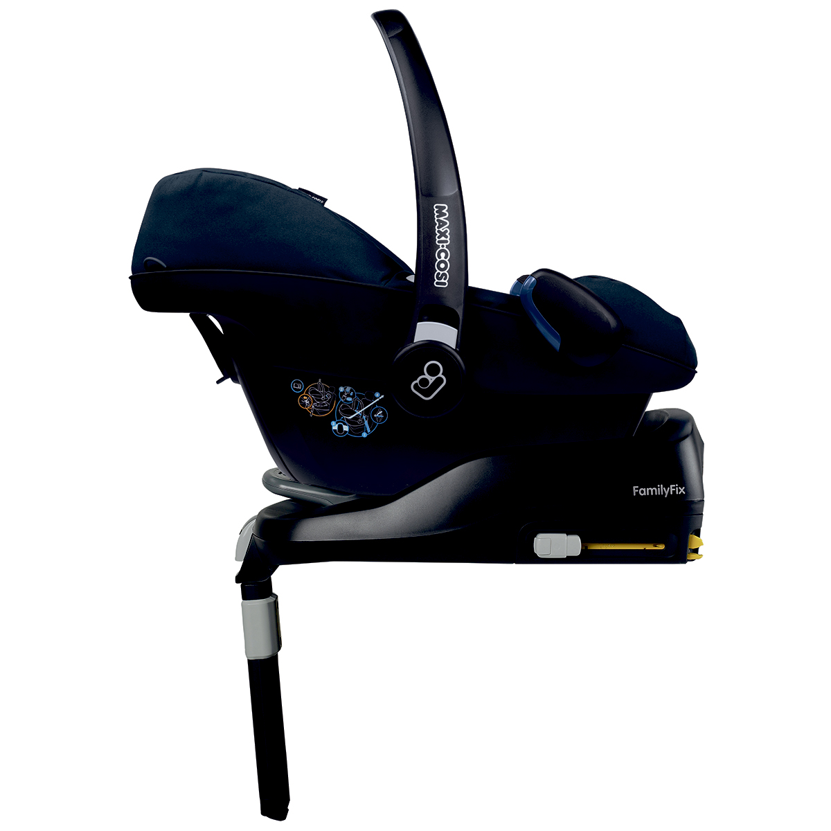Maxi-Cosi autostol - Pebble + Family Fix U2 - 0-13 kg