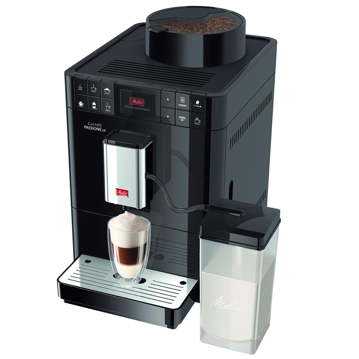 Melitta espressomaskine - Caffeo Passione OT - Sort