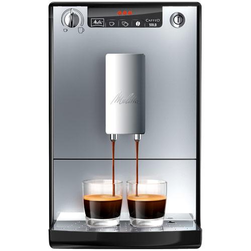 Melitta espressomaskine - Caffeo Solo - Silver/sort