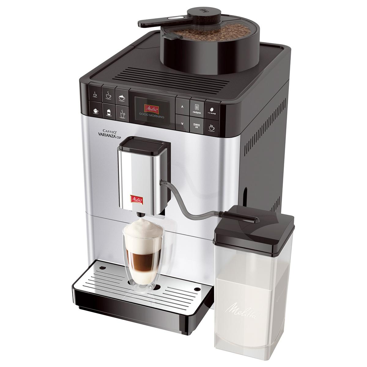 Image of   Melitta espressomaskine - Caffeo Varianza CSP - Sølv
