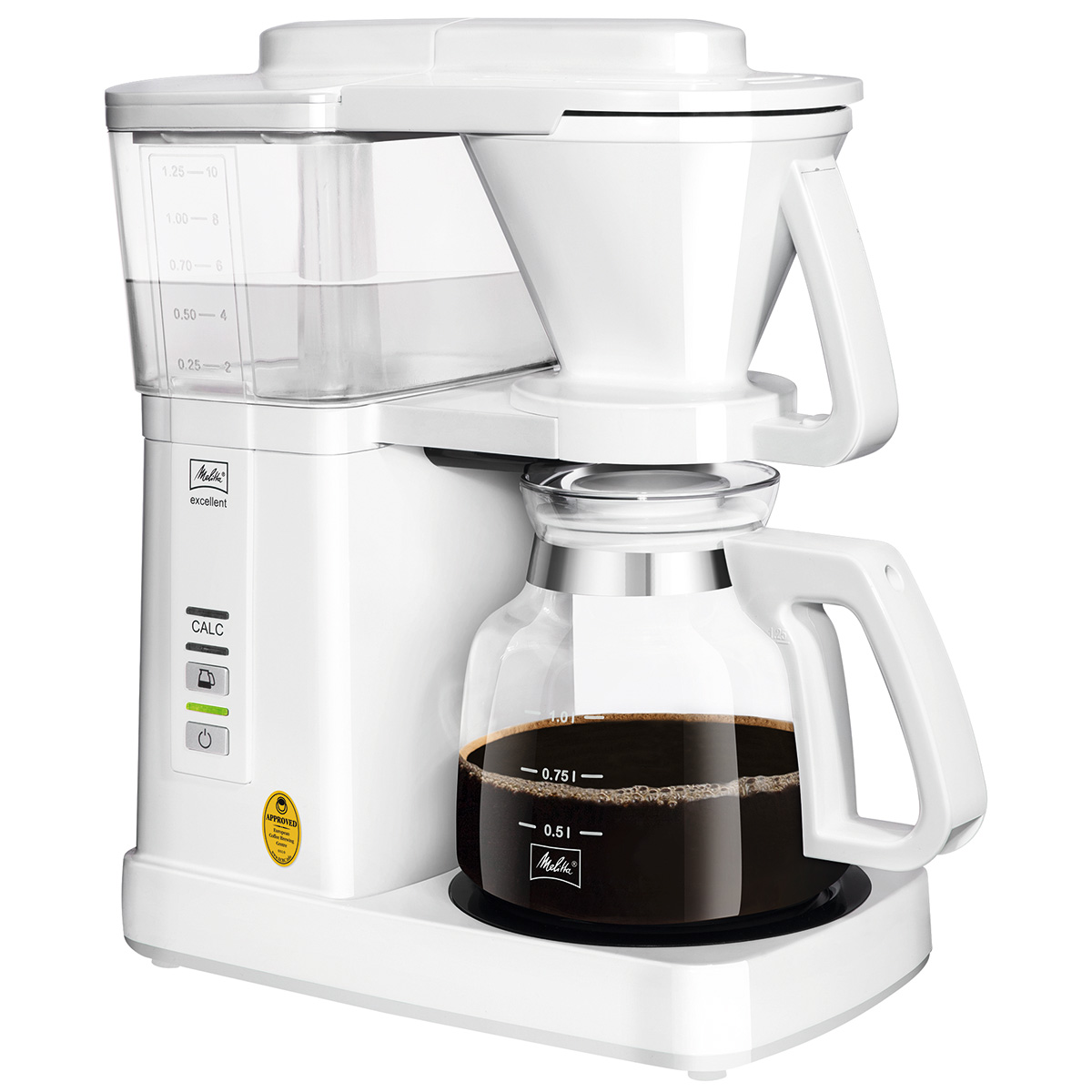 Melitta kaffemaskine - Excellent 5.0 - Hvid