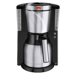 Image of   Melitta kaffemaskine - Look Therm Deluxe - Sort