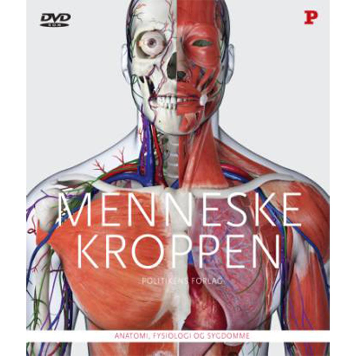 Image of   Menneskekroppen - anatomi, fysiologi og sygdomme - Indbundet