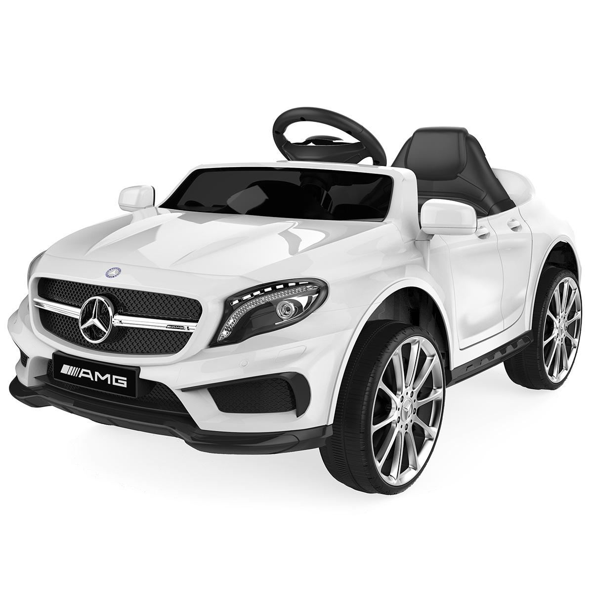 Image of   Mercedes elbil - GLA45 - Hvid