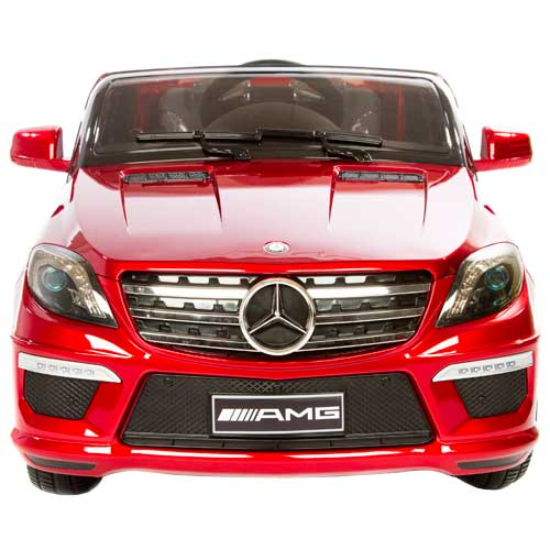 Image of   Mercedes elbil - ML63 AMG - Rød