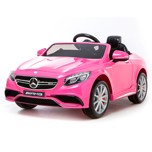 Mercedes elbil - S63 - Hot pink