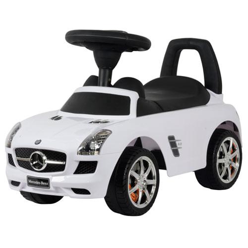 Mercedes SLS gåbil - Hvid