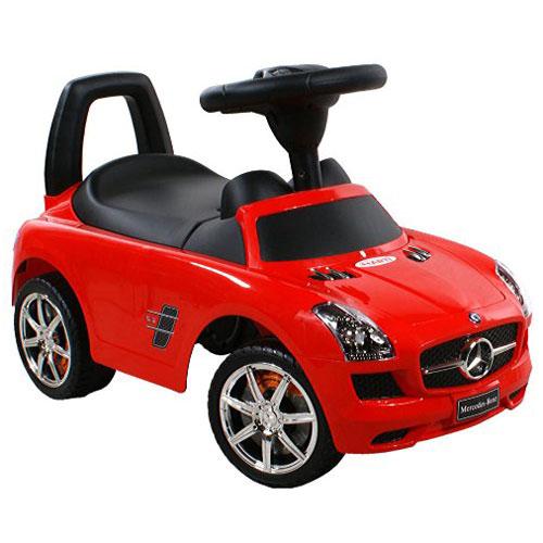 Mercedes SLS gåbil - Rød