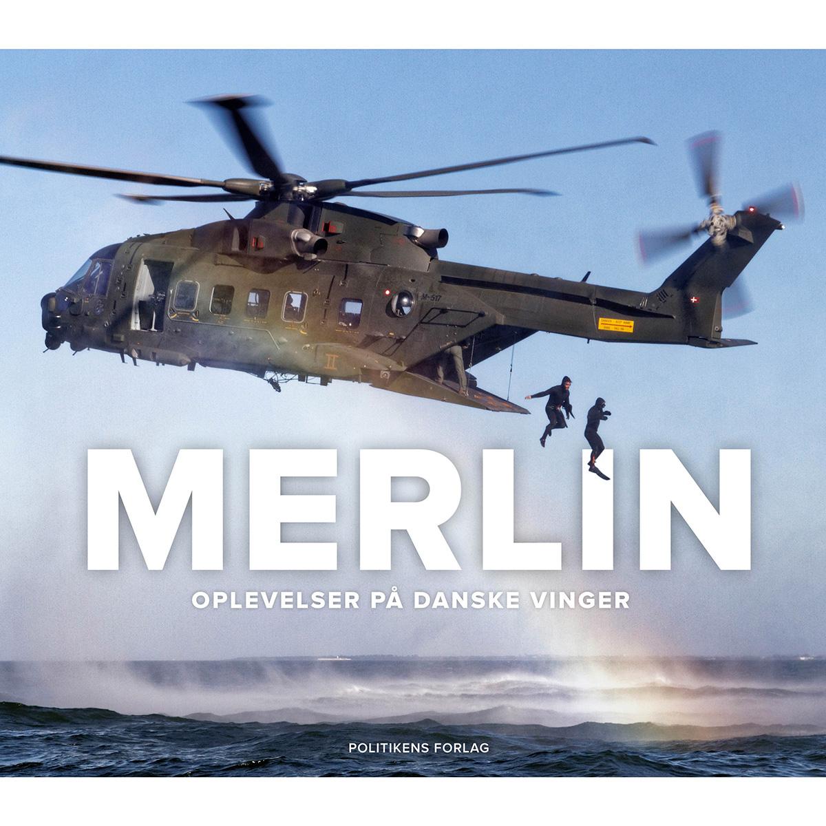 Merlin - Oplevelser på danske vinger - Indbundet