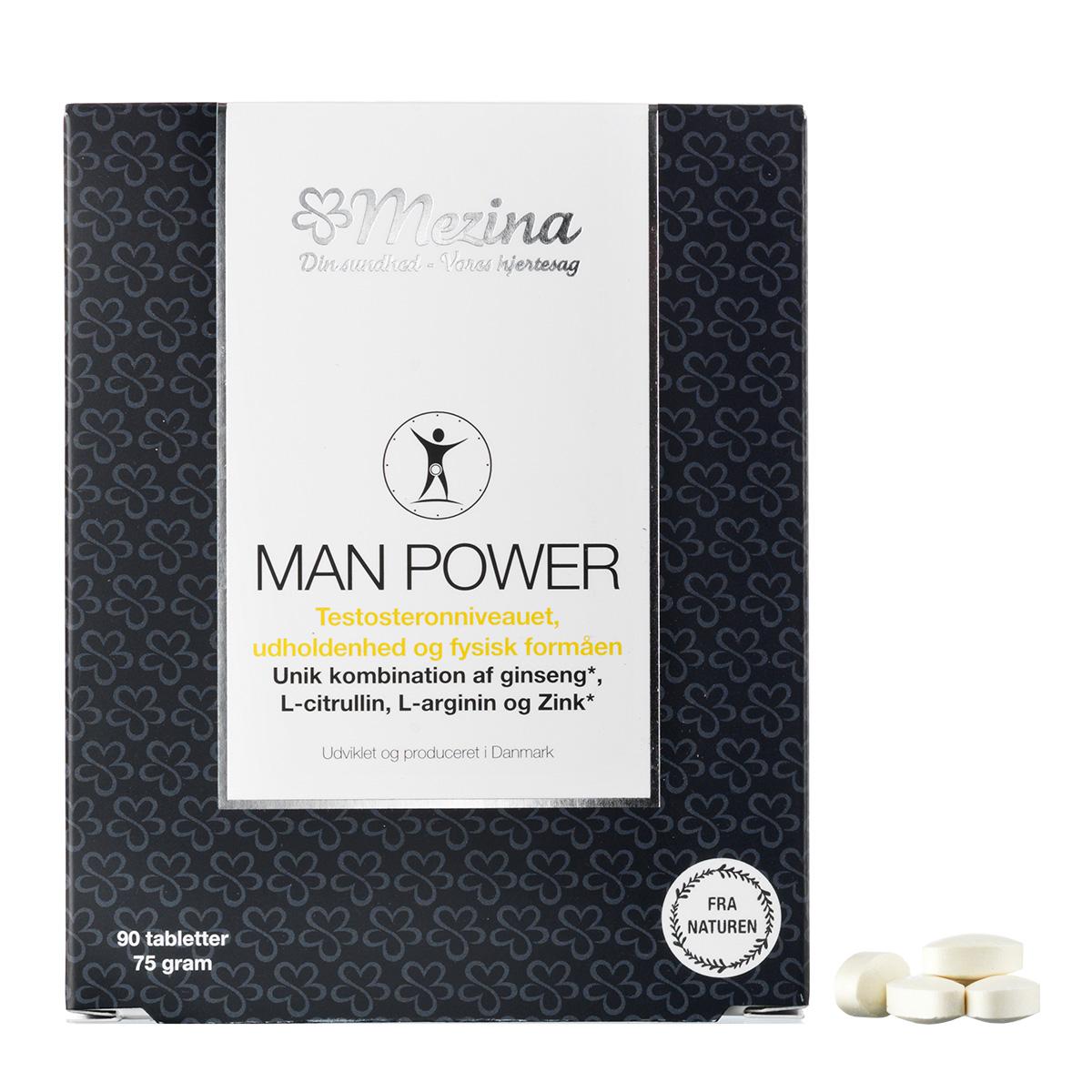 Image of   Mezina Man Power - 90 stk.