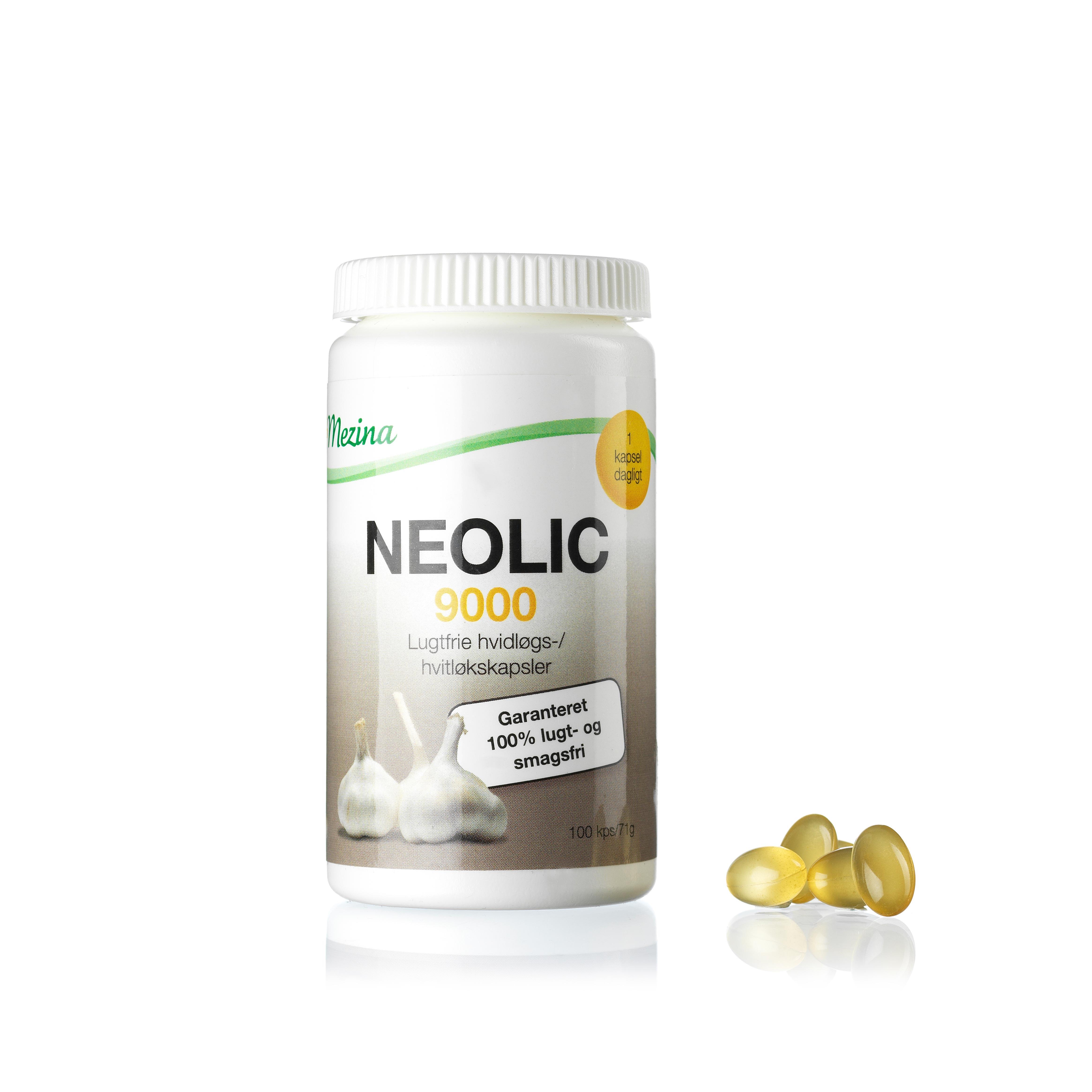 Image of   Mezina Neolic 9000 - 100 stk.