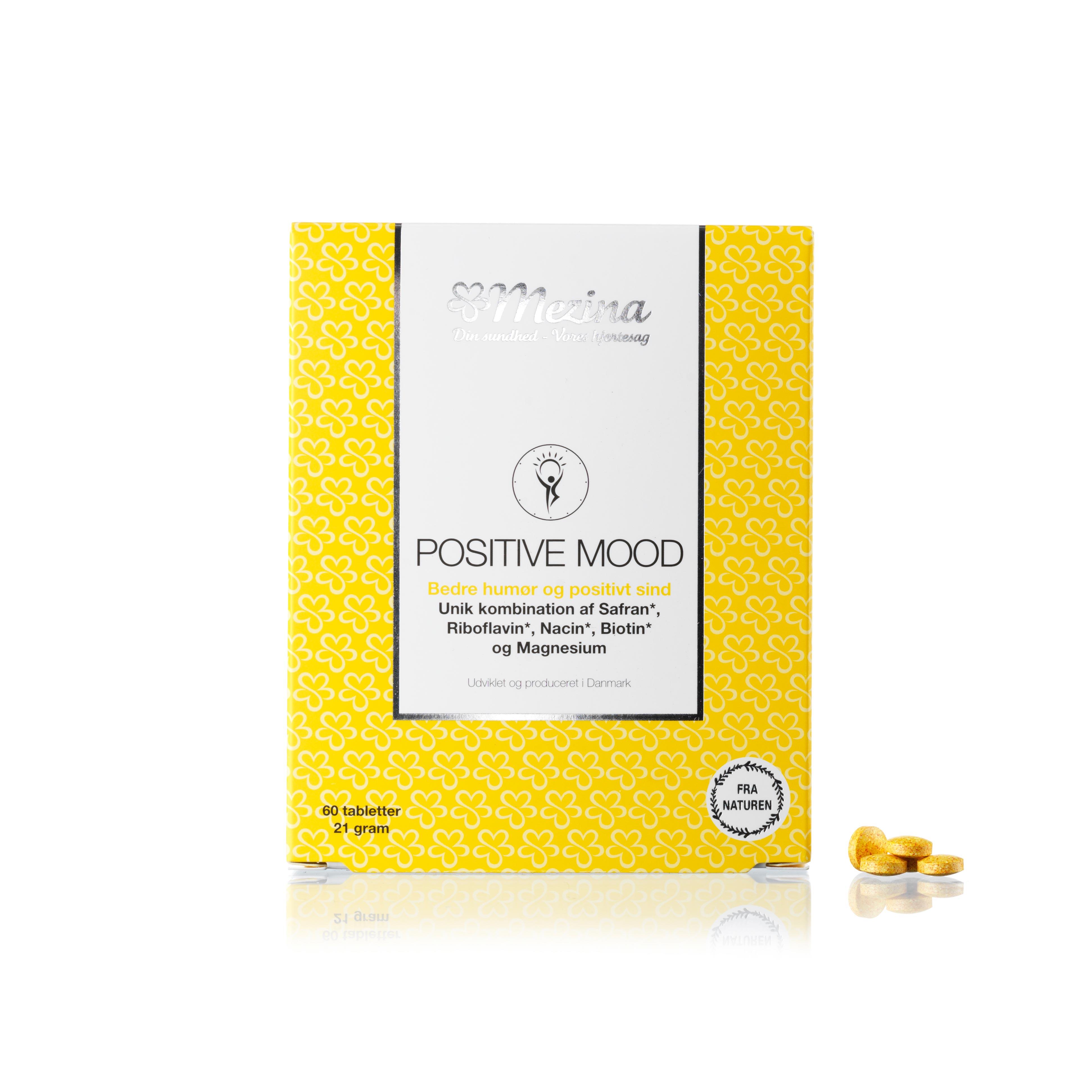Image of   Mezina Positive Mood - 60 stk.