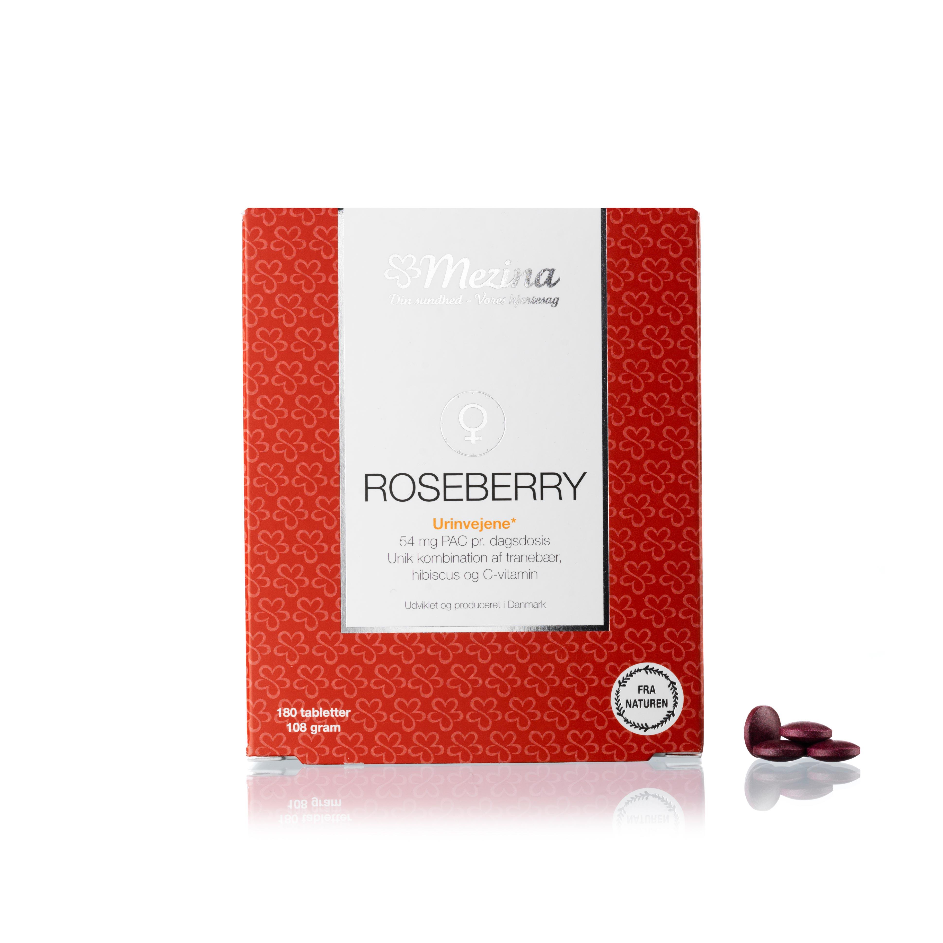 Image of   Mezina Roseberry - 180 stk.