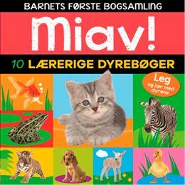 Billede af Miav - 10 lærerige dyrebøger - Papbog