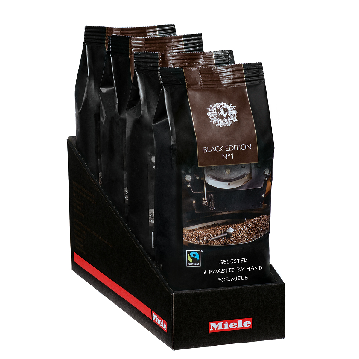 Image of   Miele kaffebønner - Black Edition no 1 kaffe - 4 x 250 g