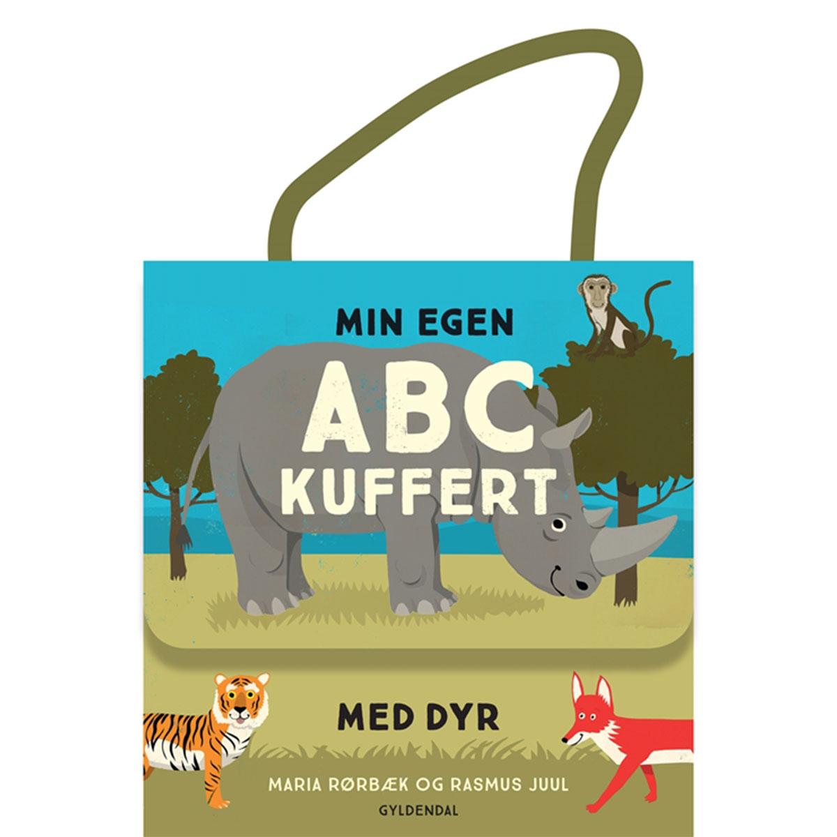 Image of   Min egen ABC-kuffert med dyr - Indbundet