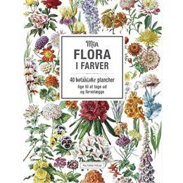 Image of   Min flora i farver - Hæftet