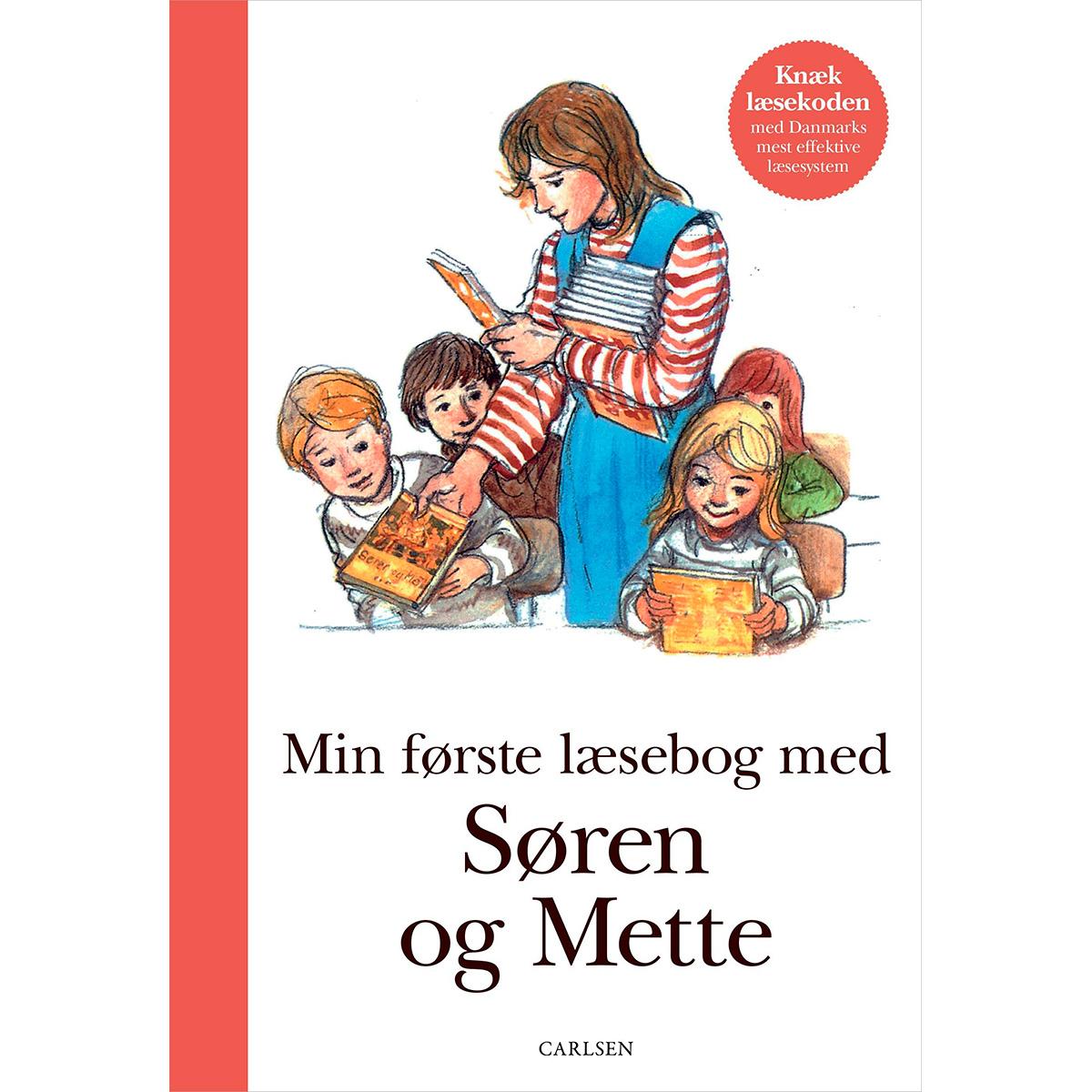 Image of   Min første læsebog med Søren og Mette - Hardback