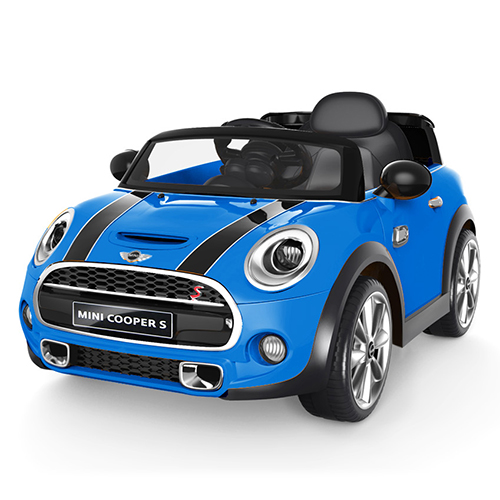 Image of   Mini Cooper elbil - Hatch - Blå