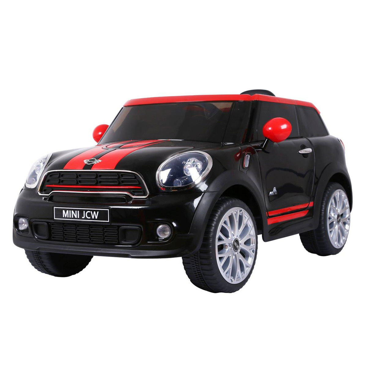 Image of   Mini Cooper elbil - Paceman - Sort/Rød