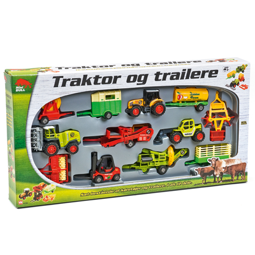 Image of   miniBULL gavesæt med køretøjer