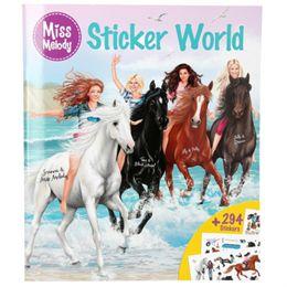 Image of   Miss Melody klistermærkebog - Sticker World