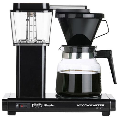 Image of   Moccamaster kaffemaskine - H931 AO Homeline - Black