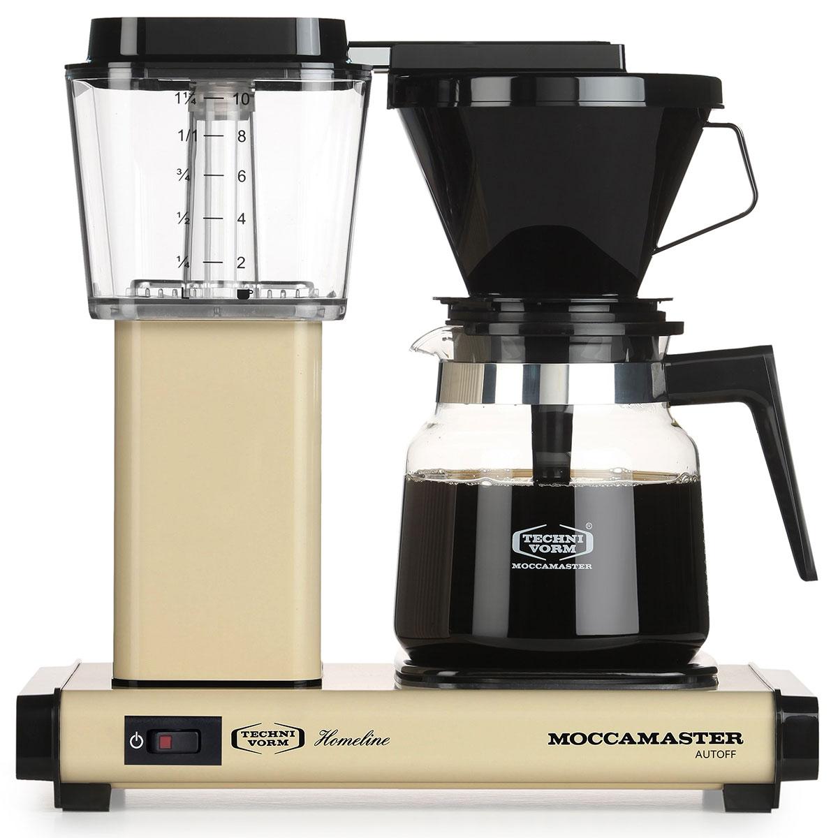 Moccamaster kaffemaskine - H931 AO Homeline - Light Ivory