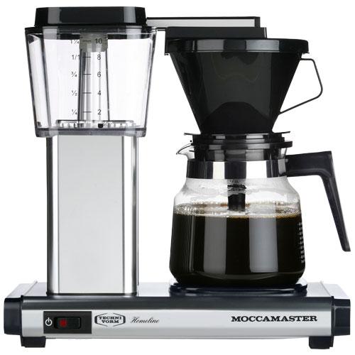 Image of   Moccamaster kaffemaskine - H931 AO Homeline - Polished silver
