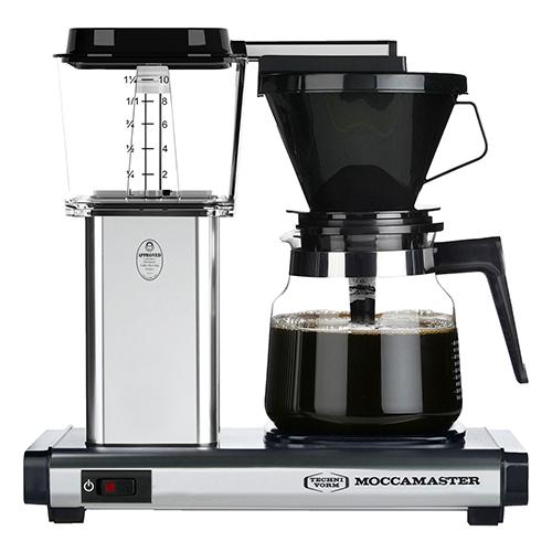 Billede af Moccamaster kaffemaskine - H931 AO Homeline - Polished silver