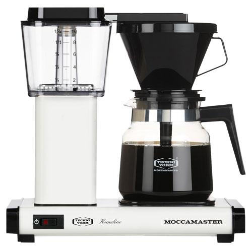 Image of   Moccamaster kaffemaskine - H931 AO Homeline - Polished white
