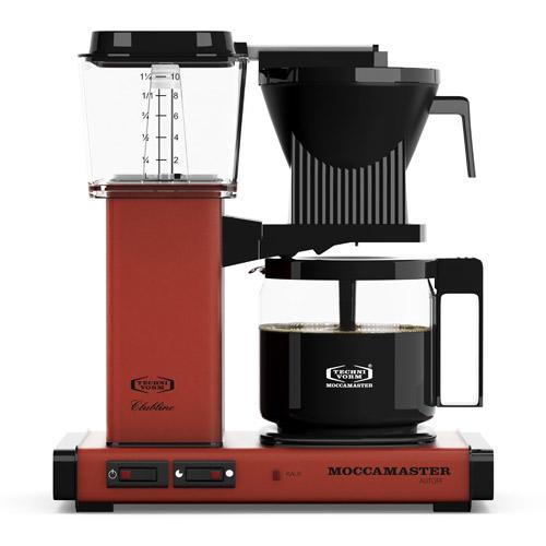 Image of   Moccamaster kaffemaskine - KBGC 982 AO - Brick Red