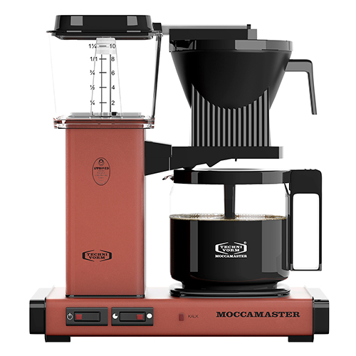 Billede af Moccamaster kaffemaskine - KBGC 982 AO - Brick Red