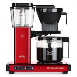 Image of   Moccamaster kaffemaskine - KBGC 982 AO - Rød metal