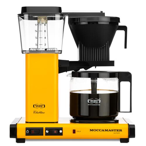 Image of   Moccamaster kaffemaskine - KBGC 982 AO - Yellow pepper