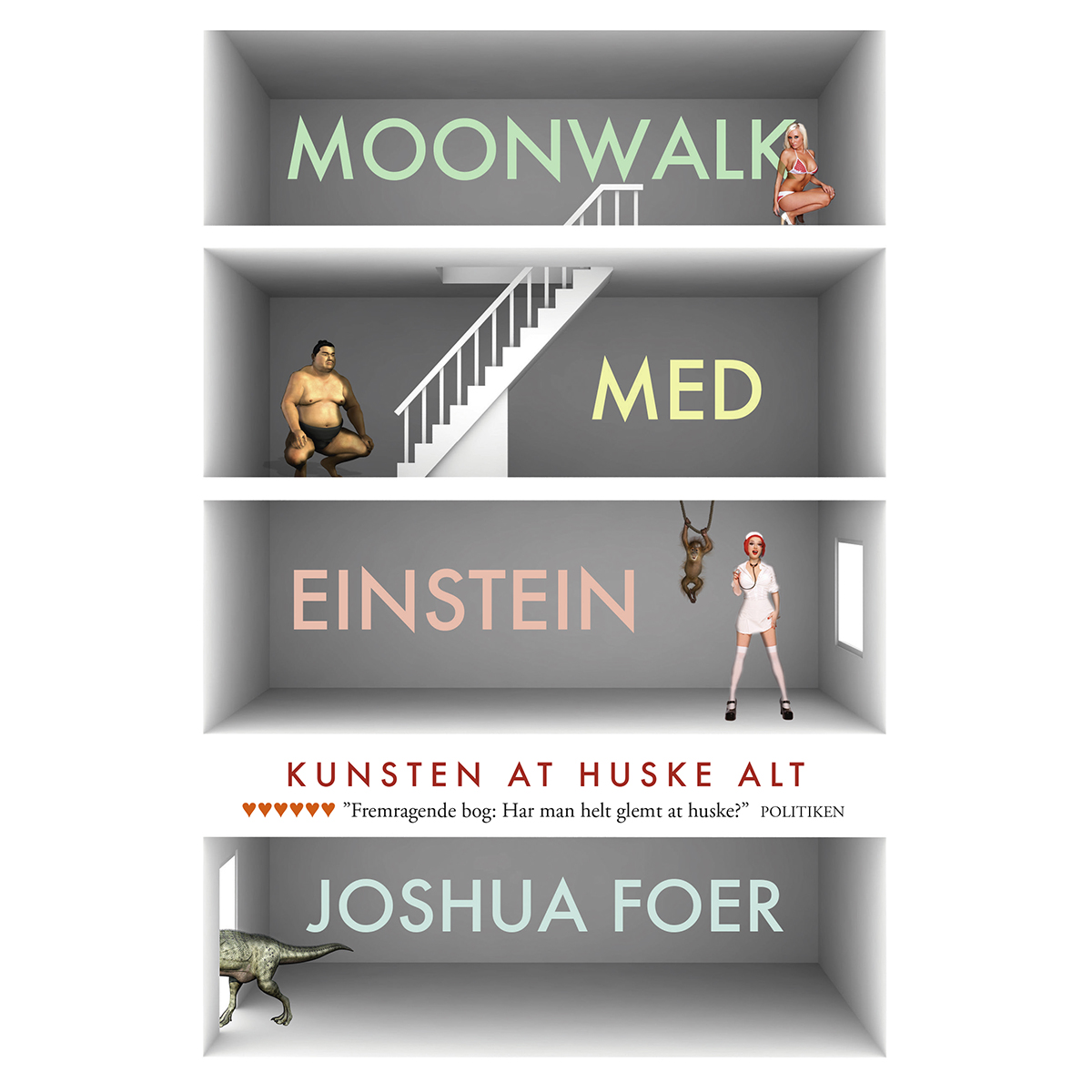 Image of   Moonwalk med Einstein - kunsten at huske alting - Paperback