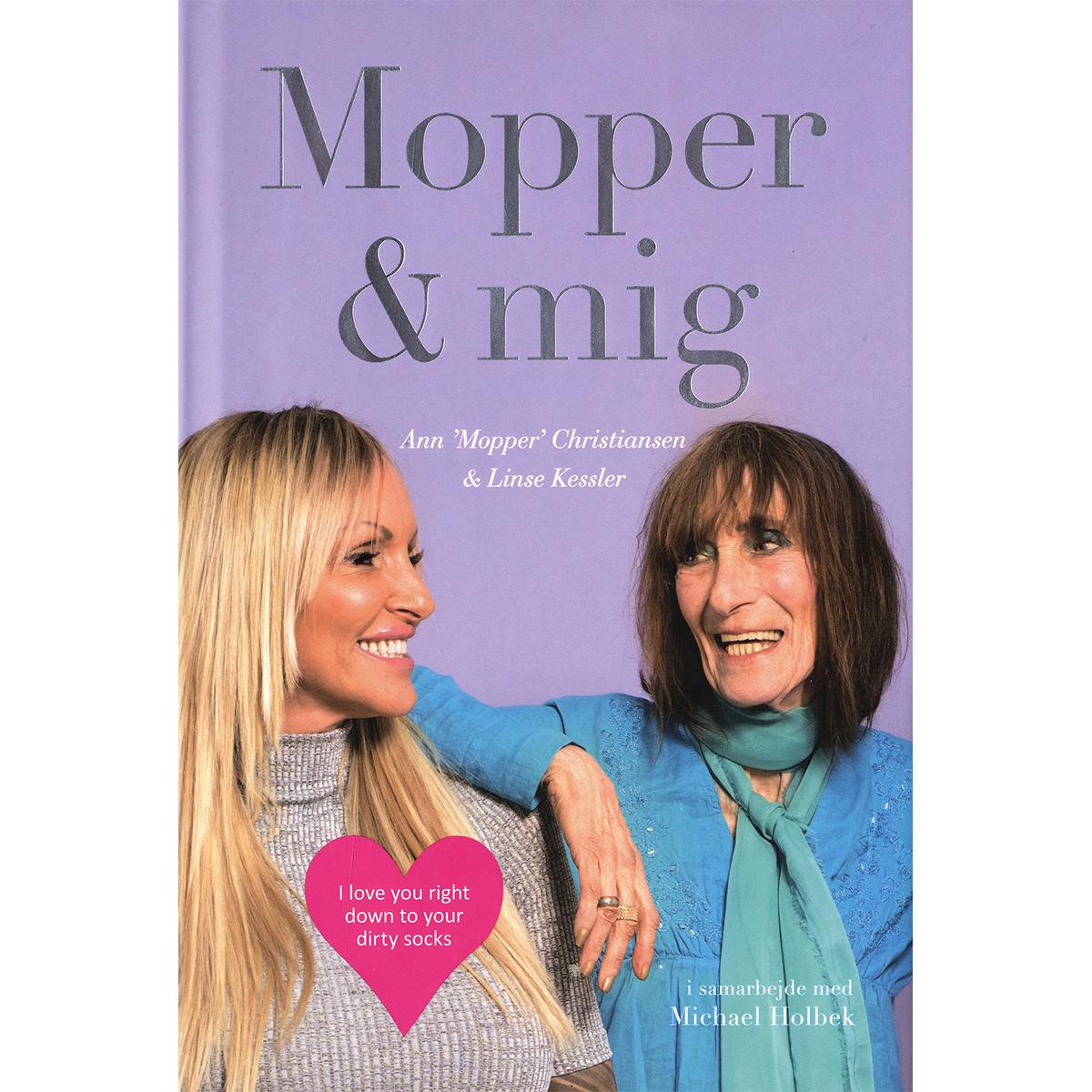 Mopper & mig - Hardback