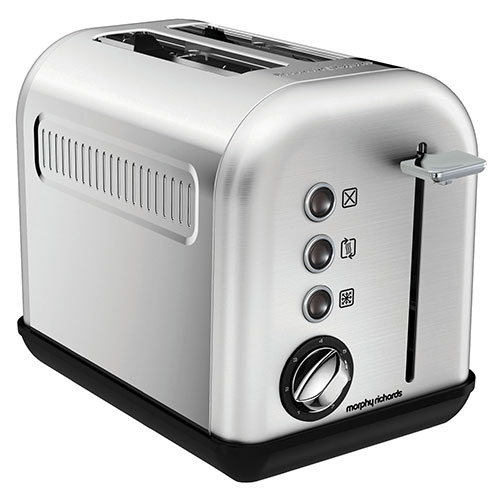 Morphy Richards toaster - Accents - Stål