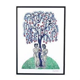 Image of   Morten Christoffersen plakat - Adam og Eva