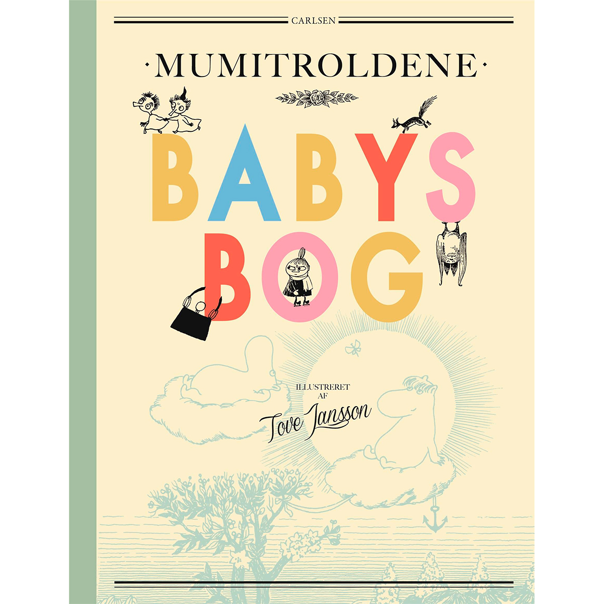 Image of   Mumitroldene - Babys bog - Indbundet