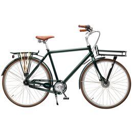 "Mustang August 28"" herrecykel med 7 gear - Grøn (mat)"
