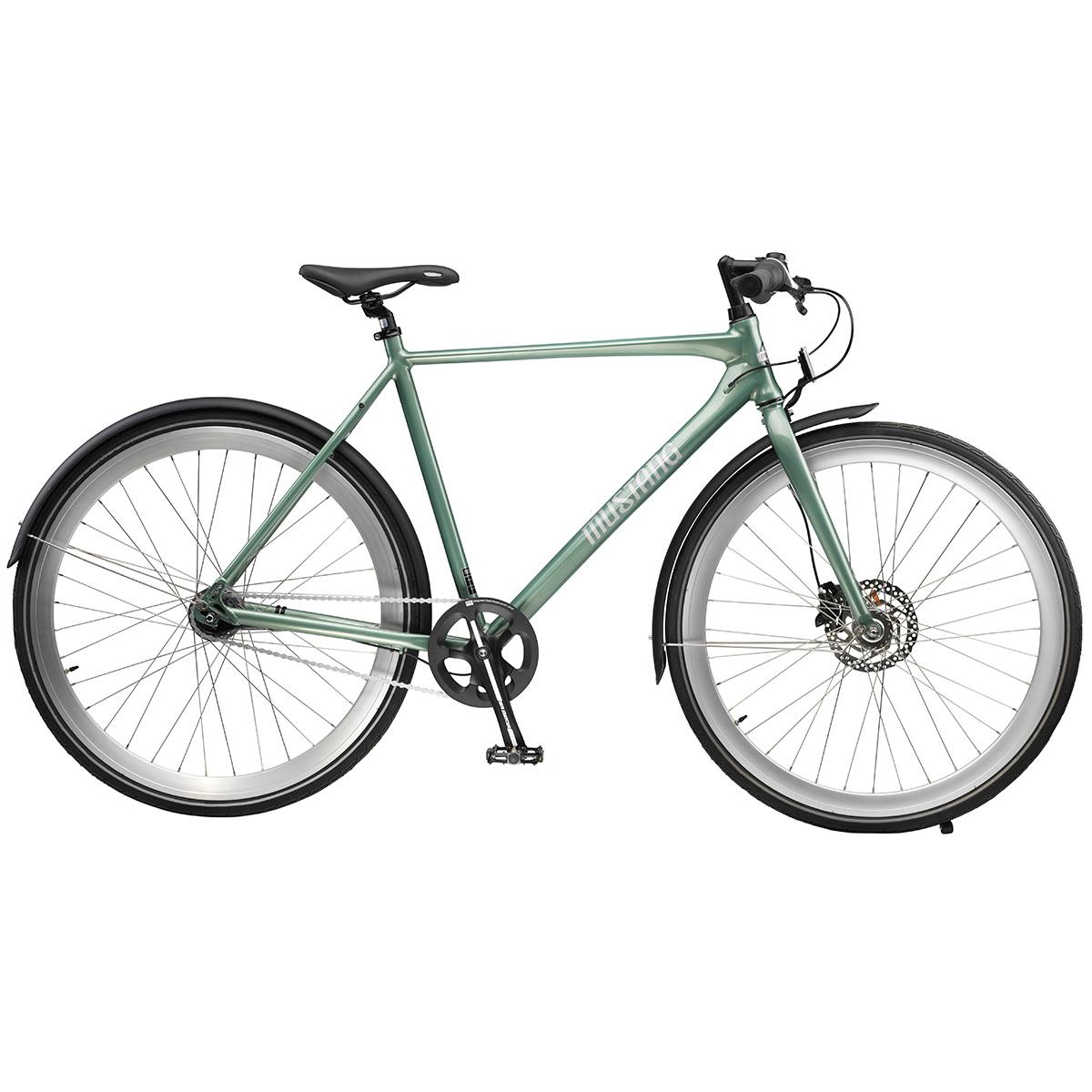 Mustang Avalon herrecykel med 7 gear - Grøn