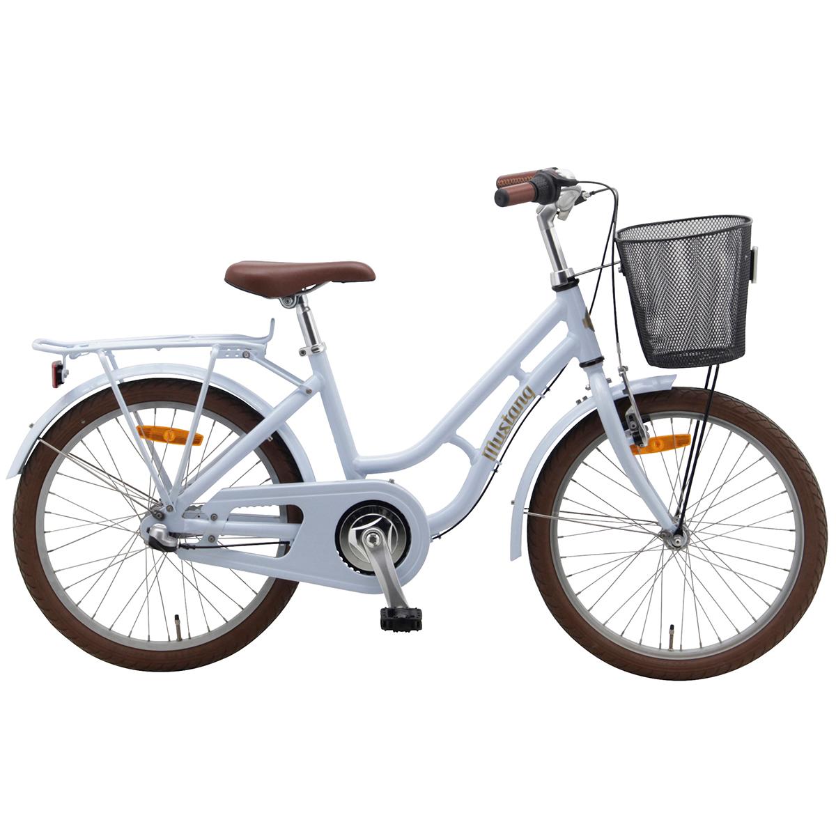 """Image of   Mustang Dagmar 20"""" pigecykel med 3 gear - Lyseblå"""