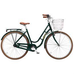 """Mustang Dagmar 28"""" damecykel med 7 gear - Grøn"""