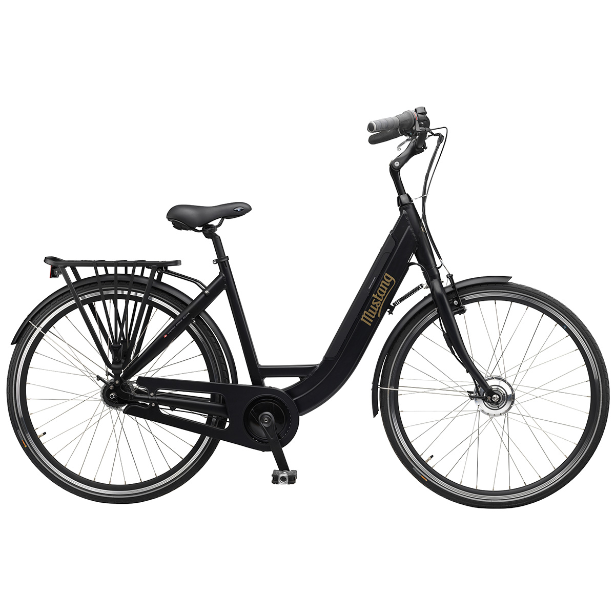 Mustang Emotion dame elcykel med 7 gear - Sort | City